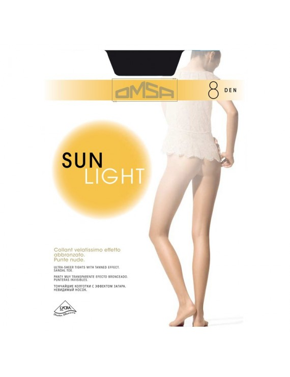 Collant velatissimo Sun Light 8 Omsa