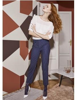 PHILIPPE MATIGNON Pantalone GESSATO  art 13108