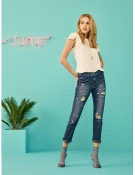 SiSi Pantalone Jeans BOTTONI art 583