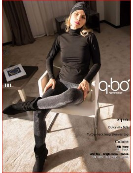 QBO Dolcevita donna manica lunga art 2410
