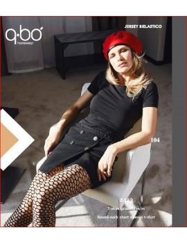 QBO T-Shirt donna mezza manica art 2413