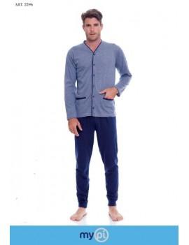 MYPI Pigiama uomo cotone giacca aperta art 2296