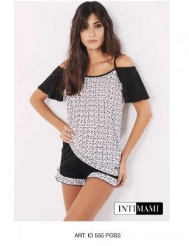 INTIMAMI HOMEWEARE pigiama donna corto art ID555