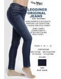 PHILIPPE MATIGNON Leggings Jeans ORIGINAL art 13100