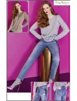 PHILIPPE MATIGNON Jeans Moda donna CHIC art 13149
