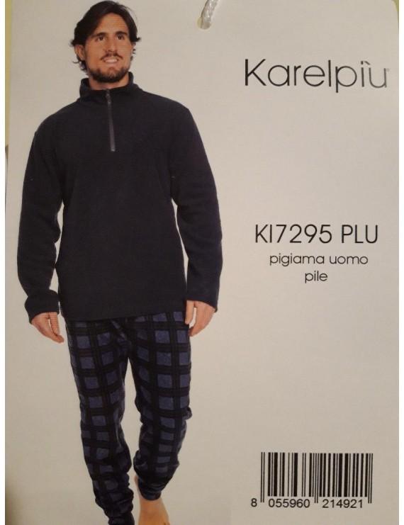 KARELPIU' Pigiama uomo pile art 7295