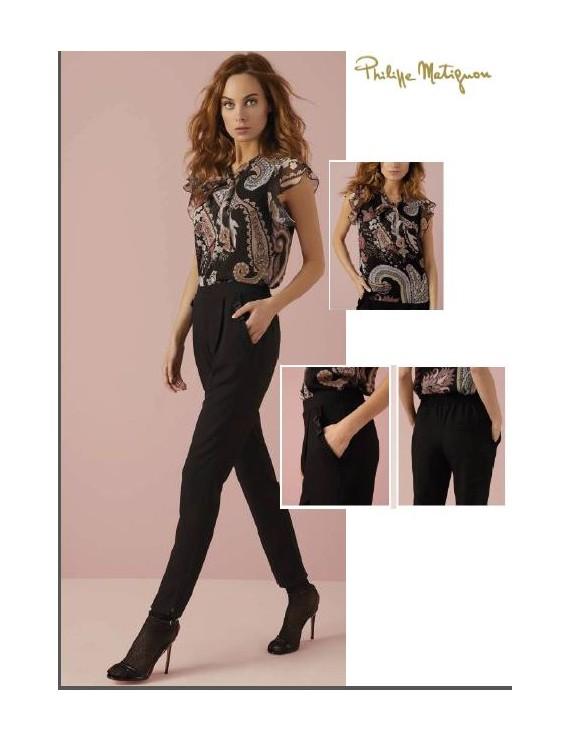 PHILIPPE MATIGNON Pantalone FIOCCO art 13177