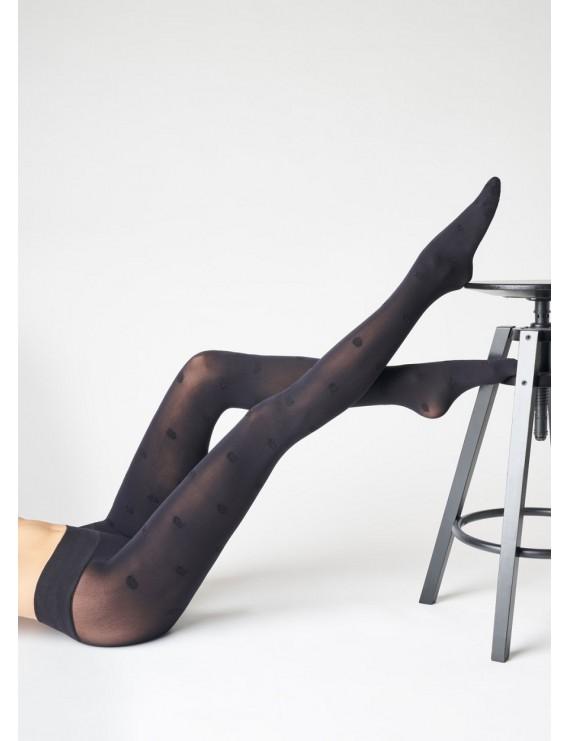 SiSi Collant moda POIS LAME art 1708