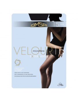 OMSA Collant velato in microfibra 15 den VELOUR 15 XL  art 201