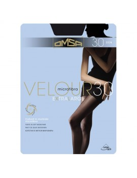 OMSA Collant semicoprente 30 den in microfibra VELOUR 30 XL  art 202