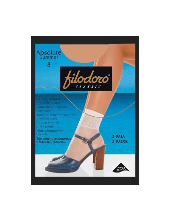 Calzino velatissimo Absolute Summer 8 Filodoro