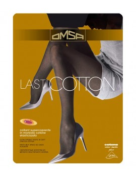 OMSA Collant supercoprente in cotone elasticizzato LASTICOTTON art 194