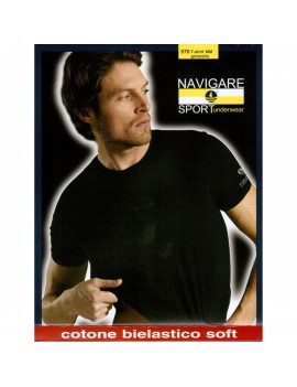 Navigare T-Shirt Uomo Cotone bielasico art. 570