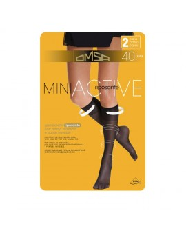 OMSA Gambaletto riposante 40 den Miniactive art 053