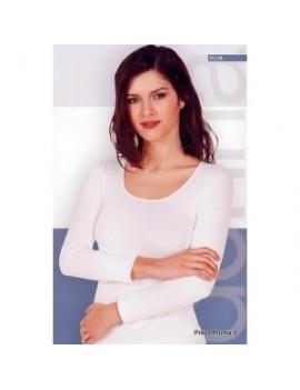 NOTTINGHAM maglia donna manica lunga caldo cotone art TL1111