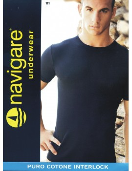 Navigare  T-Shirt Uomo Caldo cotone Girocollo art. 111