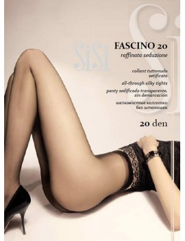 SiSi Collant Tuttonudo 20 FASCINO 20