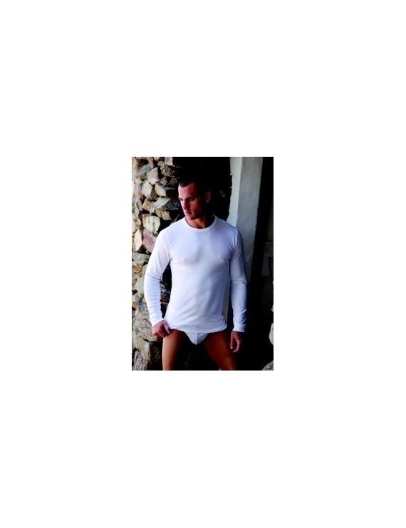 T-shirt caldo cotone girocollo manica lunga Navigare art 113