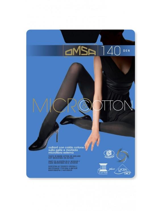 Collant microfibra e cotone Omsa art 248