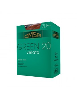OMSA Collant velato 20 den Green 20 art 090