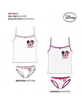 Walt Disney Completo bimba top + slip