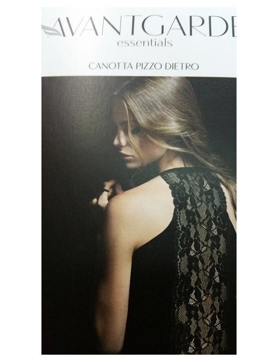 Lepel Canotta Pizzo Dietro art 2621 AVANTGARDE essentials