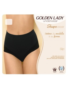 GOLDEN LADY Slip a vita alta modellante art 037