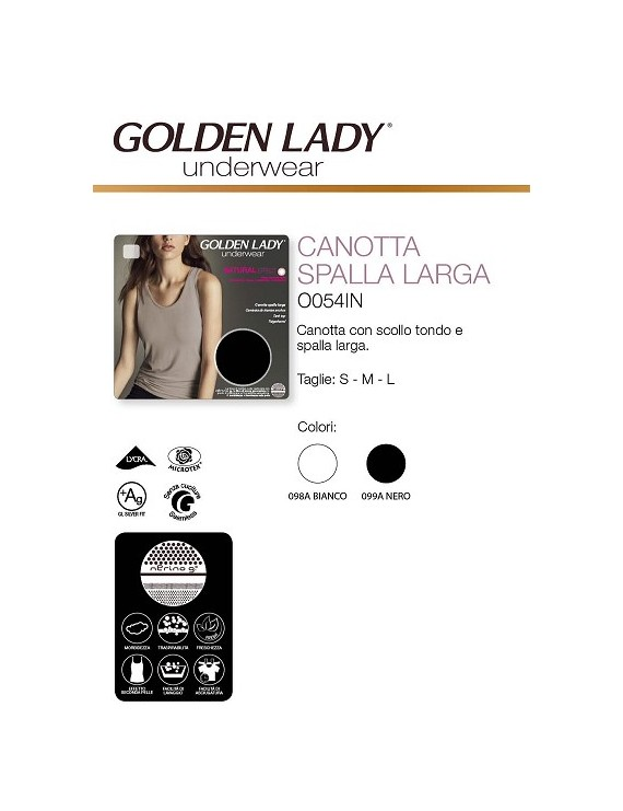 Golden Lady Canotta 054