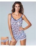 Rossoporpora Class Completo maglia top + slip art CD568