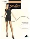 FILODORO Collant velato elegante Extra large Creta 13 den