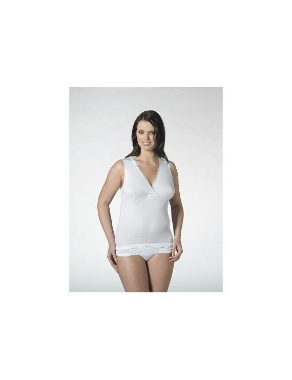 Nottingham canotta donna spalla larga forma seno art VL3025