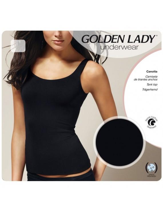 Canotta spalla larga Golden Lady
